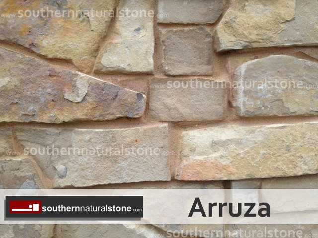 Southern Natural Stone : Thin veneer chopped stone sawn available to