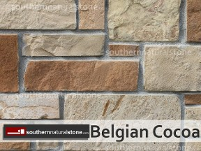 Belgian Cocoa Natural Stone, Chopped Builder, Southern Stone, Donna, Texas