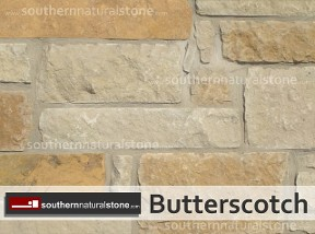 butterscotch texas limestone, thin veneer saw cut