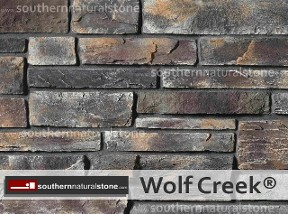 Cultured Stone, Country Ledgestone, Wolf Creek