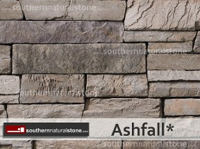 Cultured Stone, Country Ledgestone, Ashfall