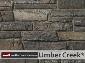 Cultured Stone, Country Ledgestone, Umbercreek