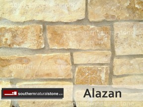 Thin Veneer Chopped Natural Stone, Alazan Stone