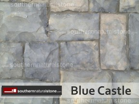 Blue Castle, Thin Chopped Stone, Southern Stone
