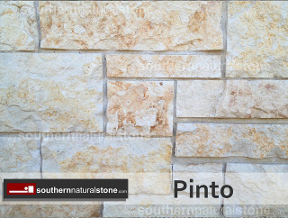 Pinto rust brown limestone, texas